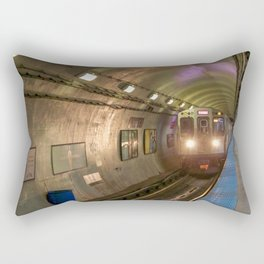 Harrison Red Rectangular Pillow
