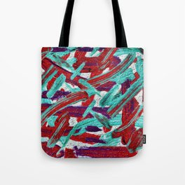 DIFFERENT STROKES Tote Bag