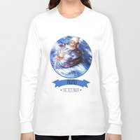 league of legends Long Sleeve T-shirts featuring League Of Legends - Nunu by TheDrawingDuo