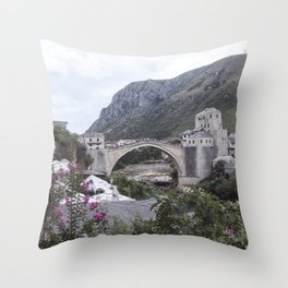 Mostar BiH III Throw Pillow