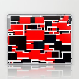 Black and Red Laptop & iPad Skin