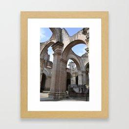 Antigua Guatemala Ruins Framed Art Print