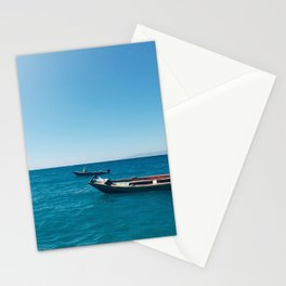Stationed in Blue Stationery Cards
