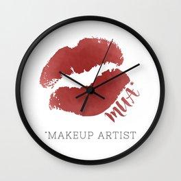 MUA *Makeup Artist Wall Clock