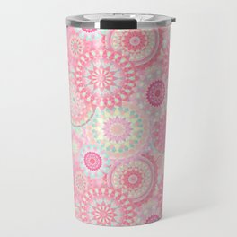 Mandala 206 (Floral) Travel Mug