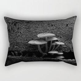 Woody Shrooms Rectangular Pillow