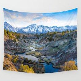 Eastern Sierra Nevada Journey, Hot Creek Wall Tapestry