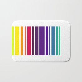 Code Rainbow Bath Mat