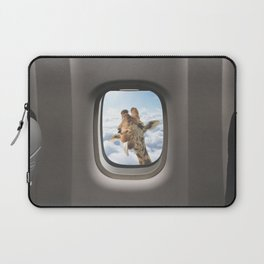 Funny Giraffe  Laptop Sleeve