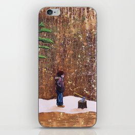 Someone Stole My Wood iPhone Skin