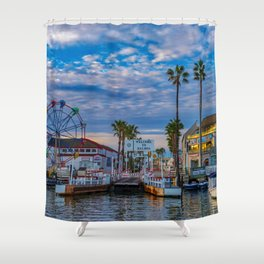 Balboa Ferry Landing Shower Curtain