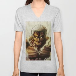 Armored Titan artwork Unisex V-Neck