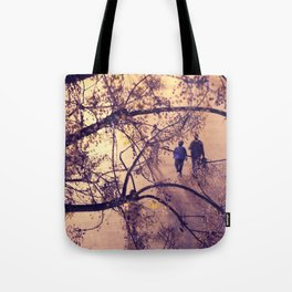 Over the city Tote Bag