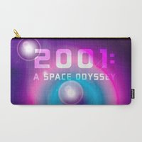 2001 Carry-All Pouches featuring 2001 a Space Odyssey by Scar Design