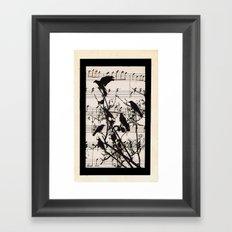 Raven Lied Framed Art Print
