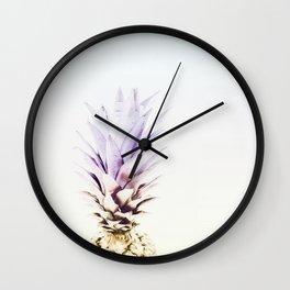 PASTEL PINEAPPLE no3 Wall Clock