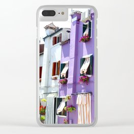 Burano.II Clear iPhone Case