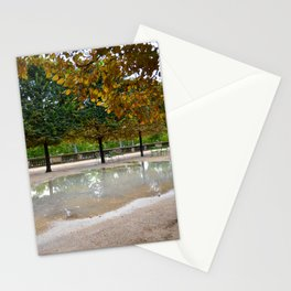 Park in Paris Stationery Cards