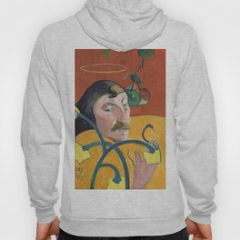 Self-Portrait with Halo and Snake by Paul Gauguin Hoody