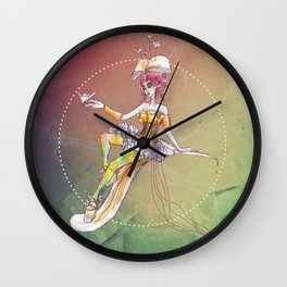 One thousand papercuts Wall Clock