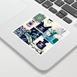 CC No.5 Fashion Collage Sticker