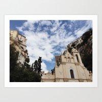 Christ of Monaco Art Print