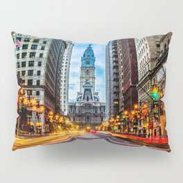 Philadelphia Streets Pillow Sham