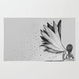 Burnt Wings Rug