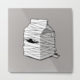 Very Long Life Milk Metal Print