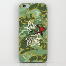 Rise and Fight iPhone & iPod Skin