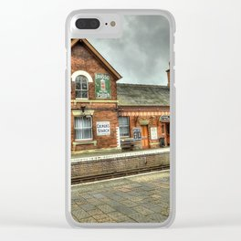 Bewdley Heritage Railway Station Clear iPhone Case