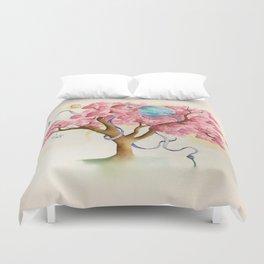 Peace Treety Duvet Cover
