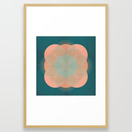 quinque orbis Framed Art Print