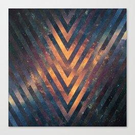 Galactics V Canvas Print