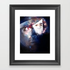 Mr. Spaceman Framed Art Print