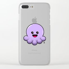 JellyFish Kawaii Clear iPhone Case