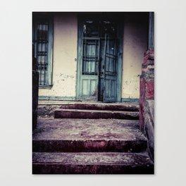 The Broken Doors Canvas Print