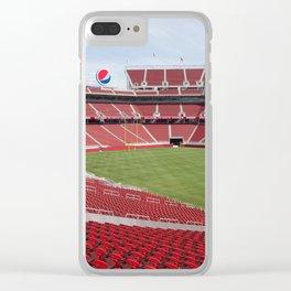 Levis Stadium Clear iPhone Case