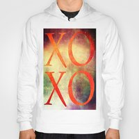 xoxo Hoodies featuring XoXo by Fine2art
