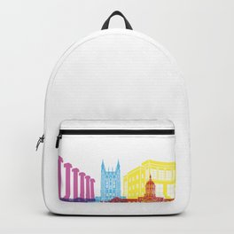 Columbia MO skyline pop Backpack