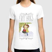 hug T-shirts featuring Hug by Rita Correia Illustrator