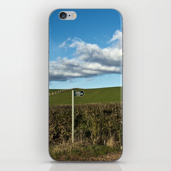 a place for the public... iPhone & iPod Skin