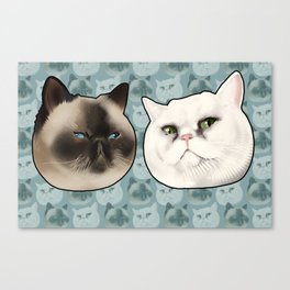 Ming and Wicket Canvas Print