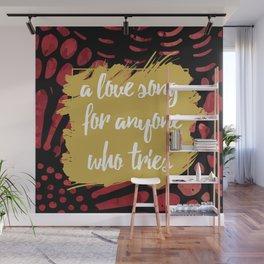 A Love Song Hadestown Wall Mural