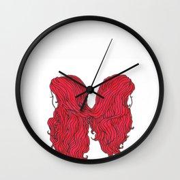 Hair I Wall Clock