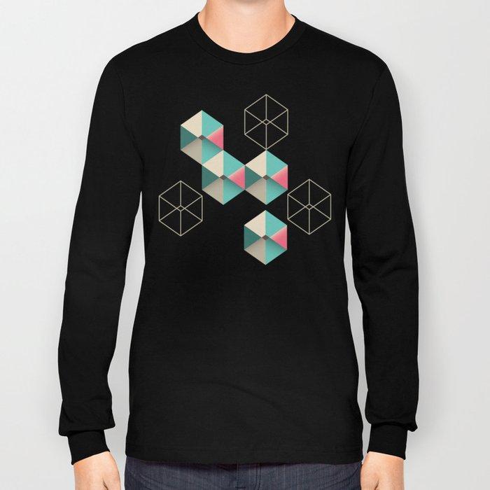 Empty cubes Long Sleeve T-shirt