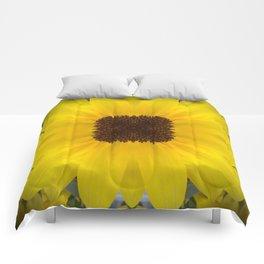 Square Sunflower Mandala Comforters