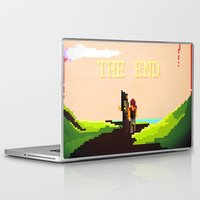 last of us Laptop & iPad Skins featuring The Last of us by Crisis