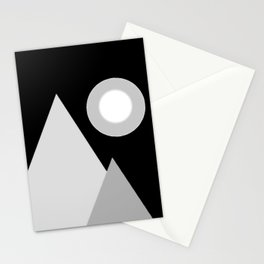 Mountain night  Stationery Cards