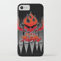 gurren lagann iPhone & iPod Cases featuring gurren lagann by tama-durden